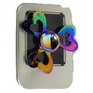 Sceedo Fidget Spinner 3 Arm Heart Chrome