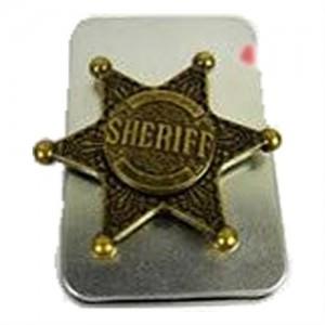Sceedo Fidget Spinner Sherrif Badge