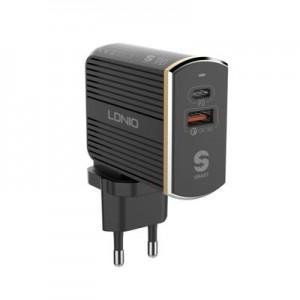 LDNIO A2502C PD + QC3.0 USB Fast Travel USB Charger