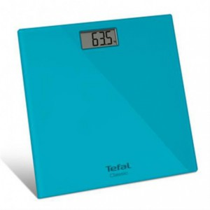 Tefal Bathroom Scale 160kg - Turquoise