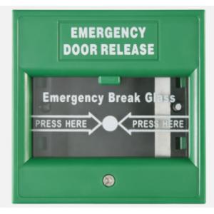 Hikvision DS-K7PEB Emergency Break Glass Box - Green