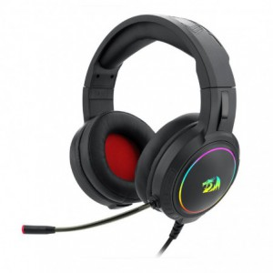 Redragon H270 Mento Over-Ear RGB Wired Gaming Headset – Black