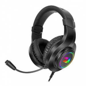 Redragon H260 Hylas Over-Ear RGB Wired Gaming Headset – Black