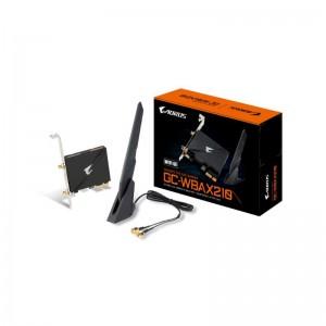 Gigabyte GC-WBAX210 Tri-Band WIFI 6 + Bluetooth 5.2 PCIe Expansion Card