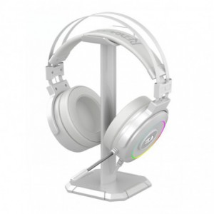 Redragon Lamia 2 USB | Virtual 7.1 | 3D Sound Effect | RGB | USB | PC/PS3/PS4 | Stand Included Gaming Headset - White