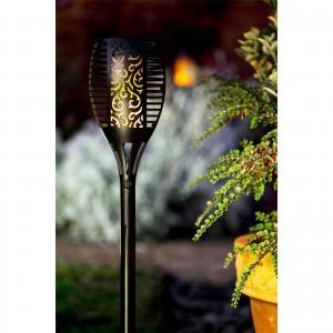 EcoBright Solar Flame Garden Torch