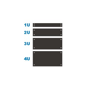 1U Blank Panels