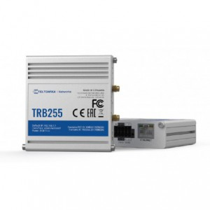 Teltonika Industrial Dual-SIM LTE Gateway to I/O, Ethernet, RS232/485 w/ GPS, NB-IoT Device