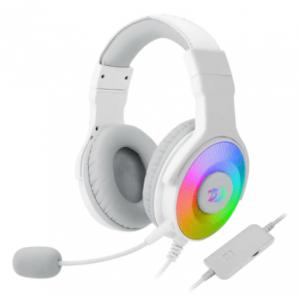Redragon H350 Pandora 2 USB RGB Gaming Headset – White
