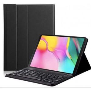 Tuff-Luv Bluetooth Keyboard Case for Lenovo Tab M10 TB-X606X FHD Plus - Black
