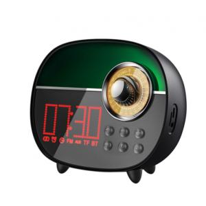 Remax RB-M50 Bluetooth V5.0 Speaker With Alarm Clock - Black