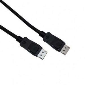 Gizzu 2m DisplayPort to DisplayPort V1.4 Cable – Black