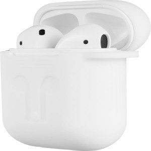 Volkano Pods Series Apple AirPods 5-in-1 Protective Accessory Kit - White