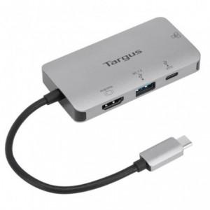 Targus USB-C DP Alt Mode Single Video 4K HDMI Docking Station with 100W PD Pass-Thru