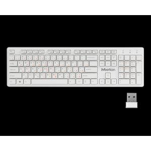 Meetion Slim 2.4G Wireless Chocolate Computer Keyboard