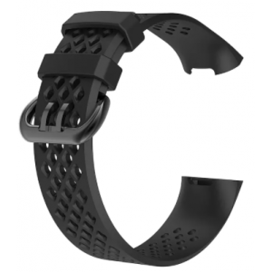 Fitbit Charge 4 Silicon Watch Sport Strap - Adjustable Replacement Strap