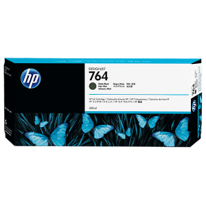 HP 764 300-ml Matte Black DesignJet Ink Cartridge for DJ3500