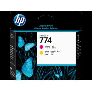 HP 774 Magenta/Yellow DesignJet Printhead For Designjet Z6810 and Z6610 Series