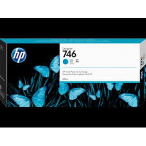 HP 746 300-ml Cyan DesignJet Ink Cartridge For Designjet Z6 and Z9 Series