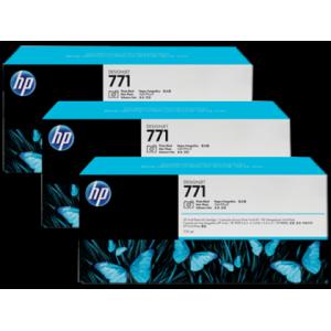 HP 771 Designjet Triple Pack Photo Black Ink Cartridge - 775ml