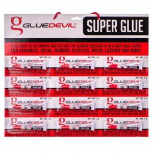Glue Devil Super Glue 12 Pack