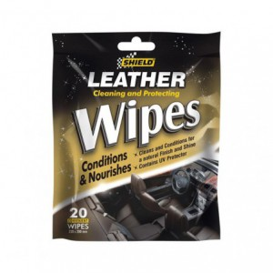 Shield Leather Care Wipes