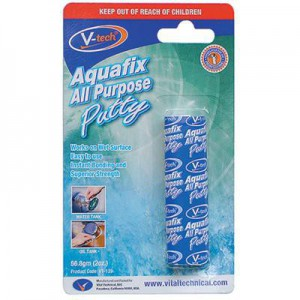 V-Tech Aquafix All Purpose Putty - 56.8g