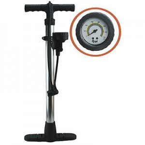 X-Appeal High Pressure Hand Pump with Gauge