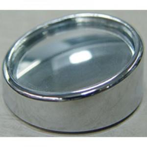 X-Appeal Blind Mirror 38mm Matt Silver