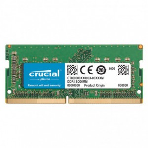 Crucial 32GB DDR4 2666 MHz SO-DIMM Dual Ranked Memory Module for Mac- Green