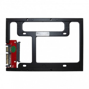 Newertech AdaptaDrive 2.5″ to 3.5″ Drive Converter Bracket – Black