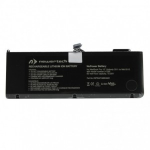 Newertech NuPower 85W Replacement Battery for 15 Macbook Pro (Early 2011-Mid 2012) – Black