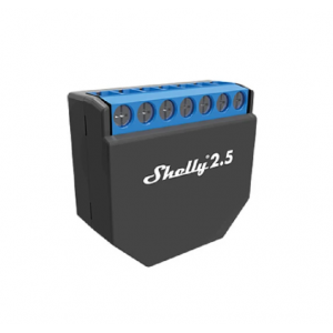 Shelly Wi-Fi Relay (10A X 2 Channel) With Power Monitoring - SHELLY 2.5
