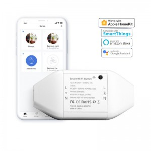 Meross Smart Wi-Fi AC Switch - Alexa/Google/Homekit compatible