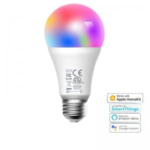 Meross Smart Wi-Fi LED 9W Bulb E27 (Screw in) - Alexa/Google/Homekit compatible