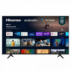 HiSense 65A6G Flat 65 inch Ultra High Definition (UHD) 4K Direct LED Android Smart TV