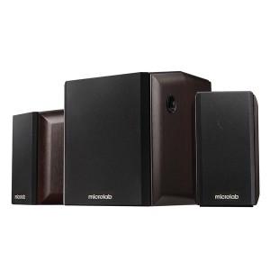 Microlab FC340 2.1 ch Speaker Set - Black/Brown