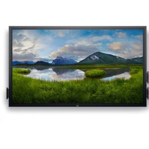 Dell Monitor  75 Inch 4K Interactive Touch LED 3840X2160 DP VGA HDMI RJ-45 RS232 USB Analog 3 Year Warranty