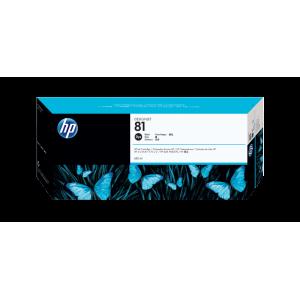 HP 81 680-ml Black DesignJet Dye Ink Cartridge