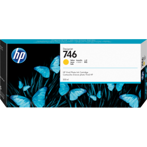 HP 746 Yellow Ink Cartridge 300ml For Designjet Z6 and Z9 Series