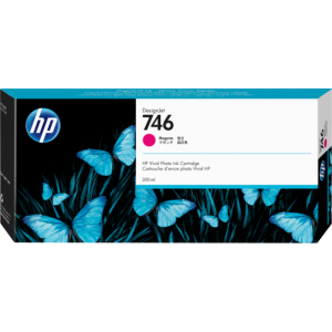 HP 746 Magenta Ink Cartridge 300ml For Designjet Z6 and Z9 Series