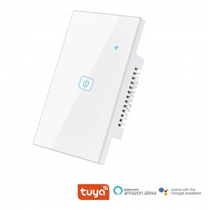 TUYA Smart Wi-Fi Light Switch WS18 (Requires Neutral) - 1 Gang