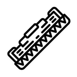 Compatible HP CE505A/CF280A Black Printer Toner