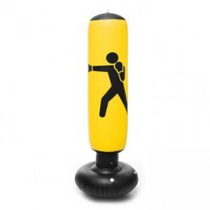 Jeronimo - Inflatable Punching Bag - Yellow