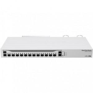 MikroTik Cloud Core 12 Port SFP+ 2 SFP28 4 Core Router