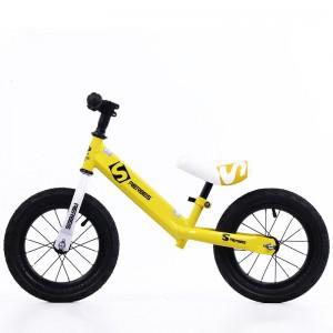 "12"" Kids Balance Bike - Yellow"