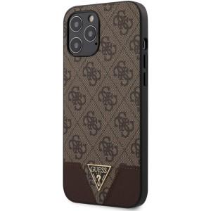 Guess - PU Brown Hard Case iPhone 12 Pro Max