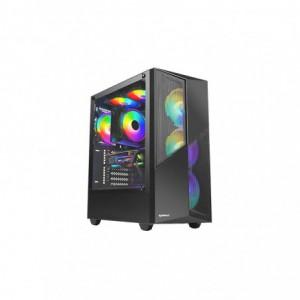 Raidmax X627 ATX   ITX ARGB Gaming Chassis – Black