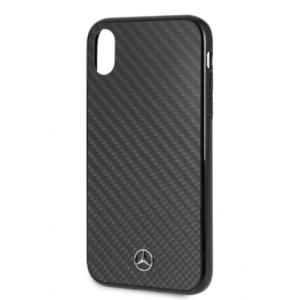 Mercedes  - Dynamic Real Carbon Fiber Hard Case iPhone XR - Black