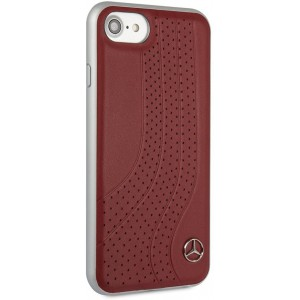 Mercedes - Genuine Leather Hard Case iPhone 7 / 8 - Red